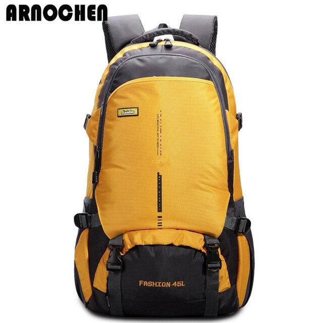 2018 Fashion Waterproof Men s Backpack Nylon Women Bag Travel Backpack  Rucksack High Quality mochila masculina ARNOCHEN WYQ270 ccbc2ad32e2a1