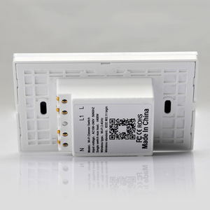 Image 4 - Wifi タッチカーテンスイッチ壁スイッチ音声制御による Alexa/Google の電話制御電動カーテンモータースマートホーム EU/米国