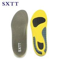SXTT PU Soft Insoles Professional Cushion Foot Care Shoe Inserts Pad Shoe Gel Cool Deodorant Orthotic