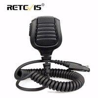 New Retevis IP67 Waterproof Speaker Microphone PTT For Retevis RT82 Dual Band DMR VHF UHF Walkie