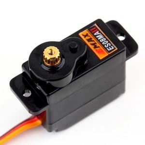 Image 5 - 4 pièces/lot EMAX ES08MA II Mini engrenage métallique Servo analogique 12g/ 2.0kg/ 0.12 Sec Mg90S