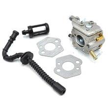 ZAMA Carburetor Gasket Fuel Filter Hose Line Kit For STIHL 021 023 025 MS210 MS230 MS250 Chainsaw Parts