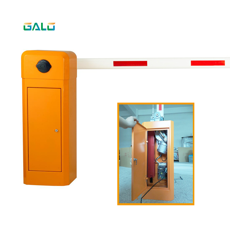 4m Boom Automatic Car Parking Barrier Gate For Parking Lots Gate System Drop Arm Barrier