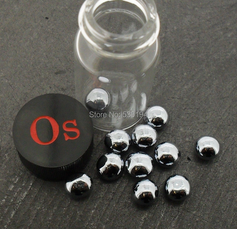 1 pcs Os D'osmium métallique (solide 1g granulés)