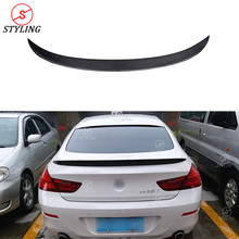 F06 Carbon Spoiler P Style For BMW Gran Coupe 6 series 640i 650i Fiber Rear trunk spoiler wing 2014-2016 2017 2018 2019