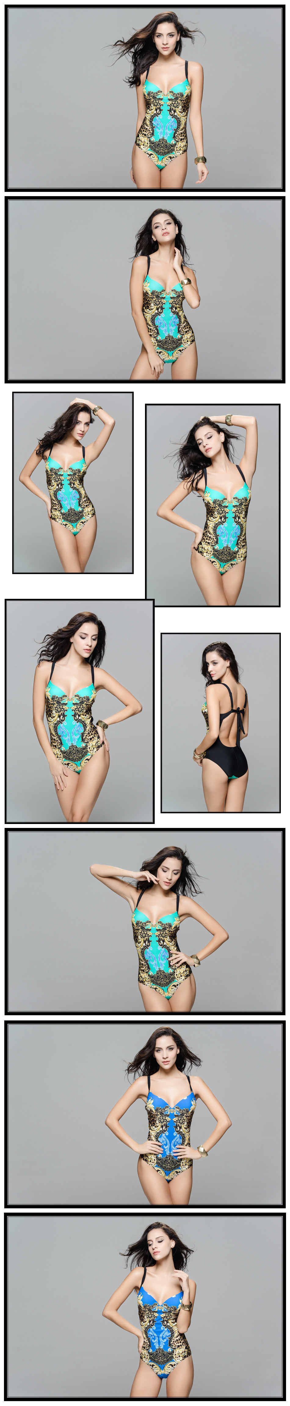 Beauty Print One Piece Swimsuit