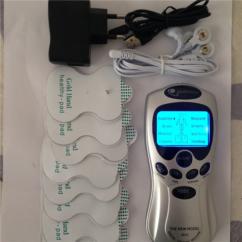 4 ways tens therapy electrode massager machine for full ...