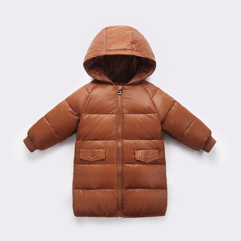 CROAL CHERIE 90% Down Winter Coat For Kids Girls Boys Long Warm Kids Boys Winter Jacket Thicken Toddler Girl Winter Clothes   (6)