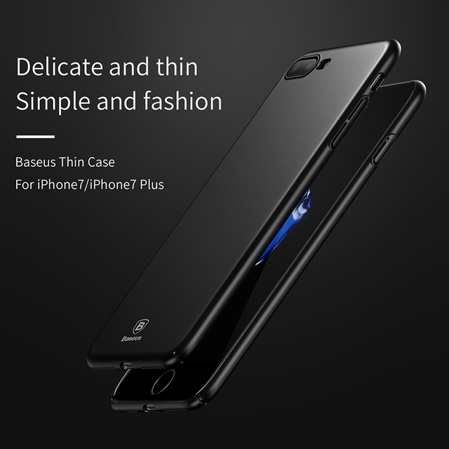 Hard Ultra-Thin Smooth Plastic Case for iPhone 7 7 Plus 8 8 Plus X 6 6 Plus 6s 6s Plus (PC iPhone Case) by Baseus 4