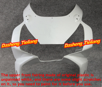 For Honda 2002 2003 CBR 954RR CBR954RR Upper Front Cowl Nose Fairing Injection ABS Plastic Motorcycle Bodykit Unpainted 02 03