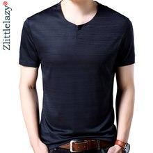 ee57fe867 2018 nueva camiseta de manga corta hombres ropa camiseta verano tops  streetwear sólido Rusia mens jersey