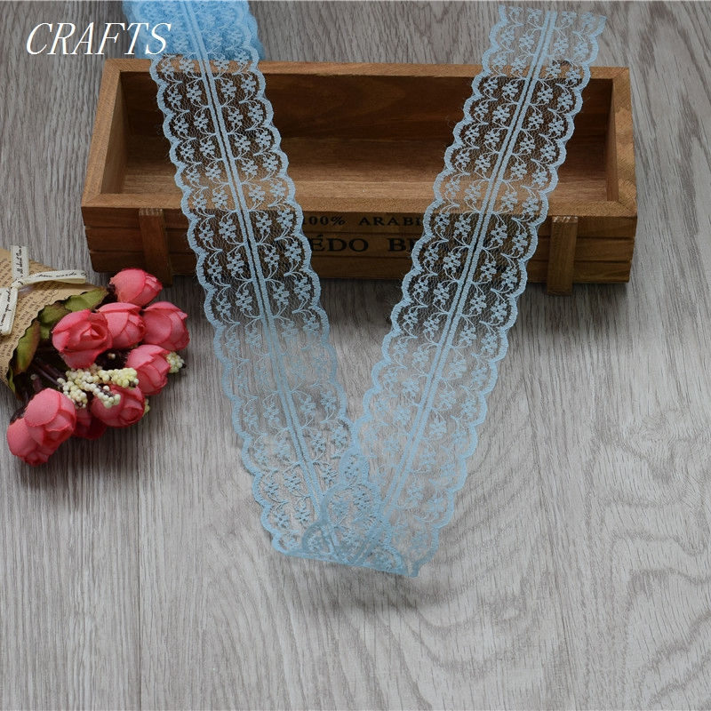 HTB1WmJWgSfD8KJjSszhq6zIJFXaK New! 10 yards of beautiful lace ribbon, 4.5 cm wide, DIY Clothing / Accessories / floral accessories, etc.