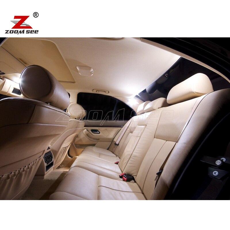 21pcs LED notranja svetilka + svetilka registrske tablice za BMW E39 - Avtomobilske luči - Fotografija 3