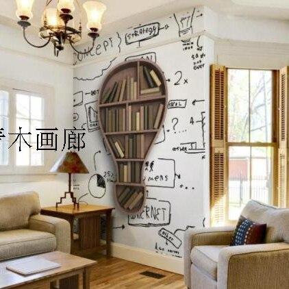 Spedizione gratuita Moderno e minimalista libreria studio corridoio ...