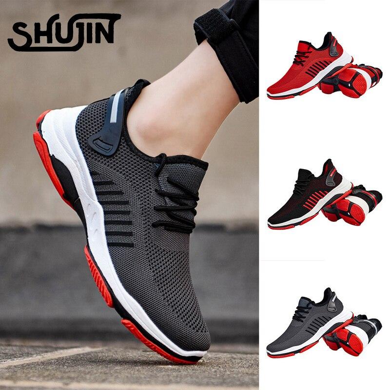 Homme Running Baskets Décontractées Lacet Gym Marche Garçons Chaussures De Sport Garçons Taille
