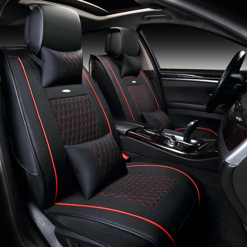 Customization Car Seat Cover General Cushion Artificial Leather Car Pad Car Styling For Volkswagen Beetle CC