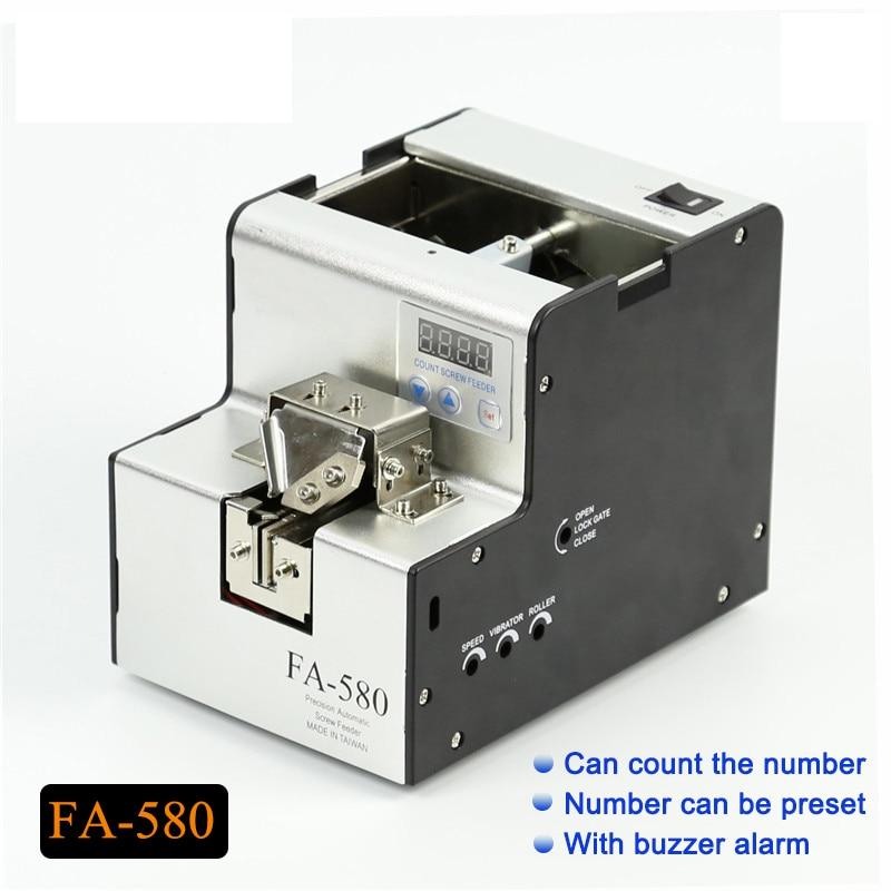 FA 580 BateRpak Precisione di conteggio automatico coclea di alimentazione, vite contatore, distributore automatico, con cicalino di allarme. - 4