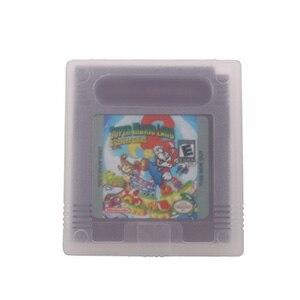 16 Bit Video Game Cartridge Console Card SuperMario Land 2 English Language Version