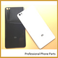 Black/White Color Original Rear Glass Battery Door Cover For Xiaomi Mi Note / Mi Note Housing Back Door Case +Logo