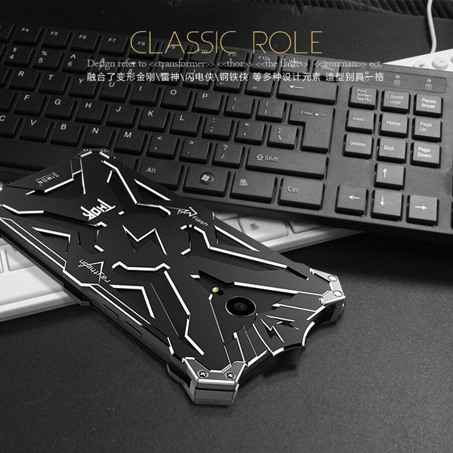 imágenes para Simon de lujo de Diseño de Metal Armor THOR IRONMAN Cajas Del Teléfono para mx4 meizu m2 note m1 pro mx5 pro 5 cubierta Fundas