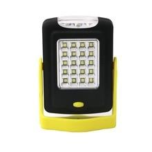 2016 Hot 2-Mode 23*COB LED Flashlight Magnetic Working Folding Hook Tent Light Lamp Torch Linternas Lanterna Lamp By AAA Battery
