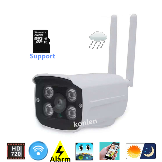 YYP2P Android IOS Waterproof Outdoor WIFI IP Camera P2P ...