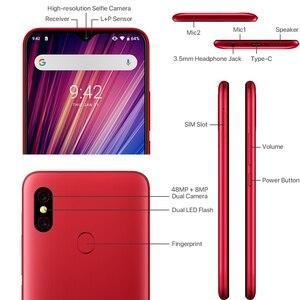 """Image 4 - Umidigi f1 play, helio 6gb 64gb android 9.0 moblile câmera 48mp 5150mah 6.3 """"p60 smartphone versão global dupla 4g"""