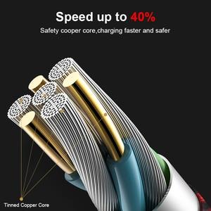 Image 4 - FastCharging 2 pcs juntos Micro USB Cabo Trançado com e 5000 + Curva Tempo para Samsung, Nexus, LG, Motorola, andriod cabo