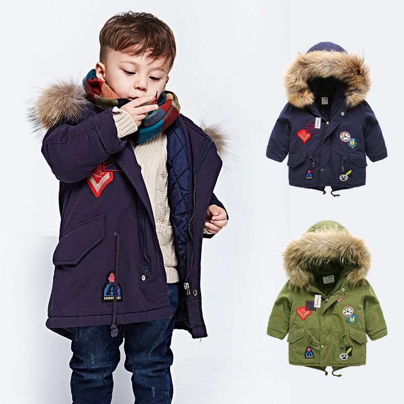 HIMEALAVO Kids coat 2018 Autumn Winter Boys Jacket for Boys Children Clothing Hooded Outerwear Baby Boy Clothes 3 4 5 6 7 Year boys lamb wool jacket coats winter boy coat children fashion outerwear kids clothes boutique clothing