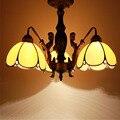 FUMAT витражная потолочная лампа с художественным оформлением Русалка тело Тиффани огни цветок Барокко ресторан отель lamparas де techo