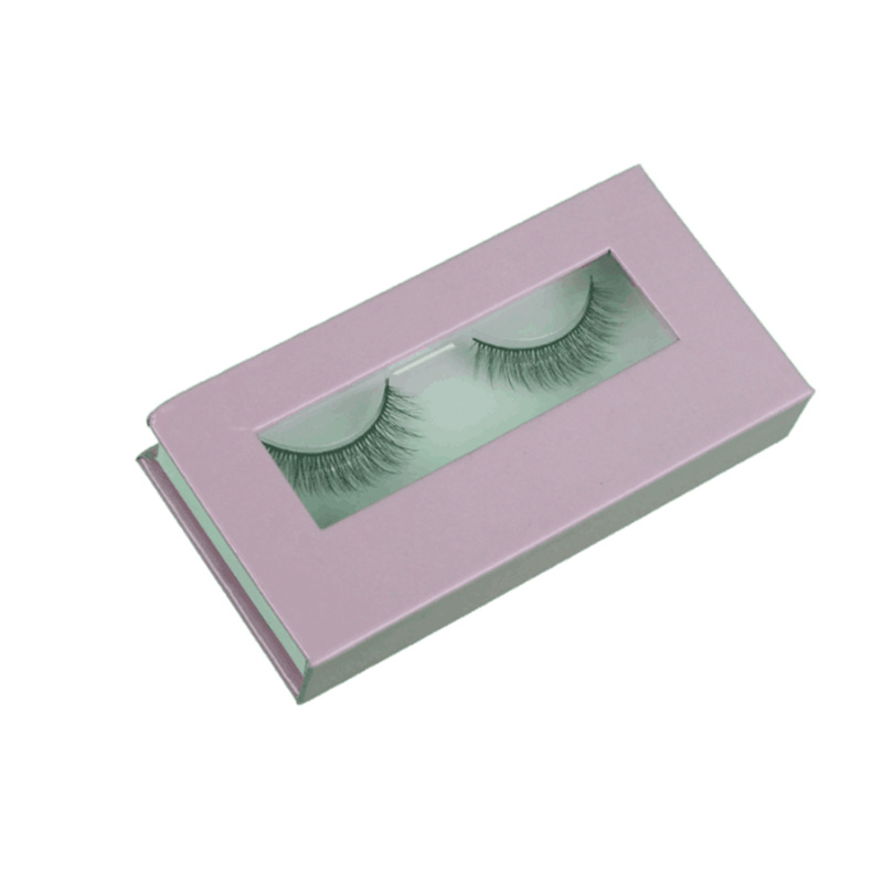 US $309 4 9% OFF|100pcs cardboard eyelash box with Custom logo brand name  printed customized eyelash paper name printing boxes-in Gift Bags &  Wrapping
