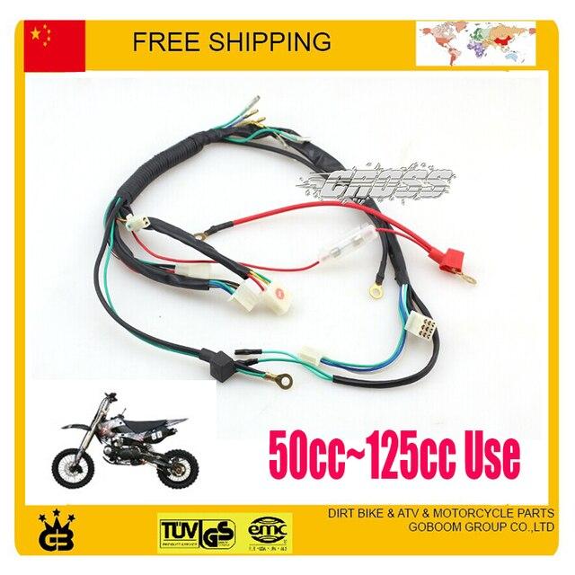 50cc 70cc 110cc 125cc dirt bike pit bike parts electric cable assy rh aliexpress com 125cc pit bike wiring diagram 125cc pit bike wiring diagram