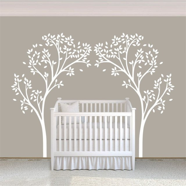 A12 Tree Canopy Portal Wall Decal Tree Wall Sticker Vinyl Nursery Wall  Decor Wall Graphic Home Part 34