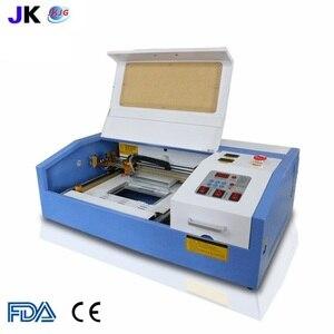 Image 2 - 2020 النسخة الجديدة JK K3020 ليزر co2 40 واط نك آلة تقطيع بالليزر النقش بالليزر أوسب المدعومة