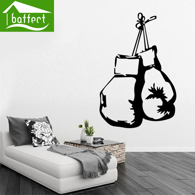 boxing bags good quality removable stickers wallpaper poster for