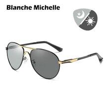 Photochromicแว่นตากันแดดผู้ชายPolarized UV400 Vintage Sunแว่นตาขับรถบุรุษแว่นตากันแดดOculos 2020 DayและNight Visionกล่อง sunglasses men sun glasses