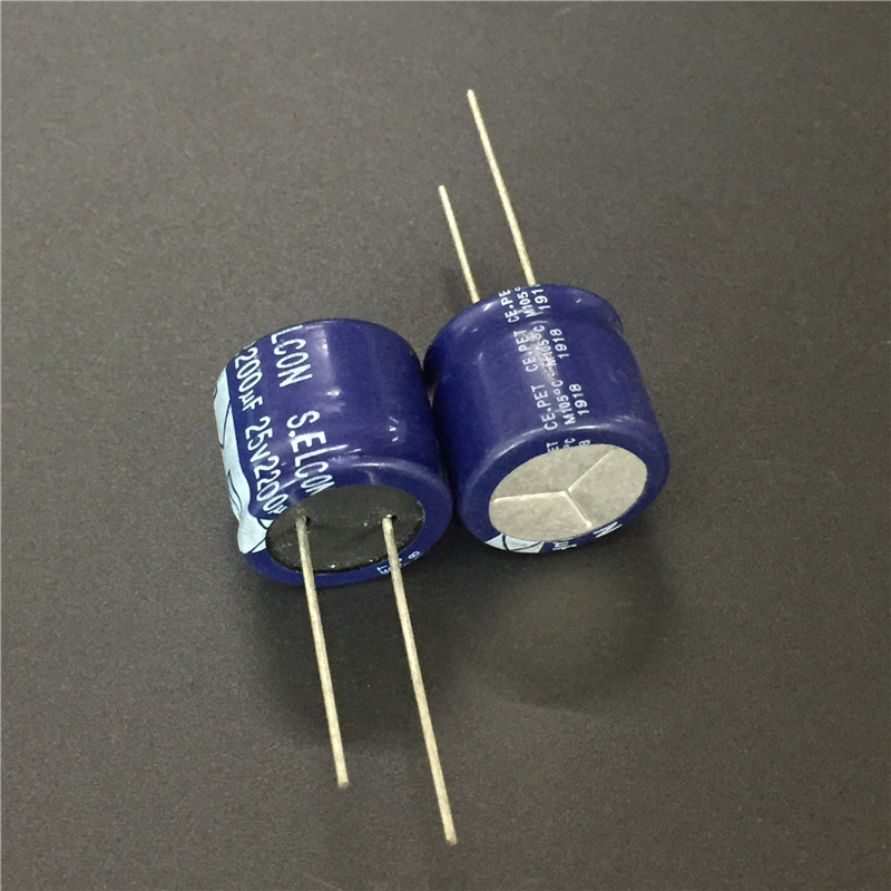 100pcs 16V1000uF 8X20mm RE3 ELNA standard Capacitor For Audio 1000UF  16V