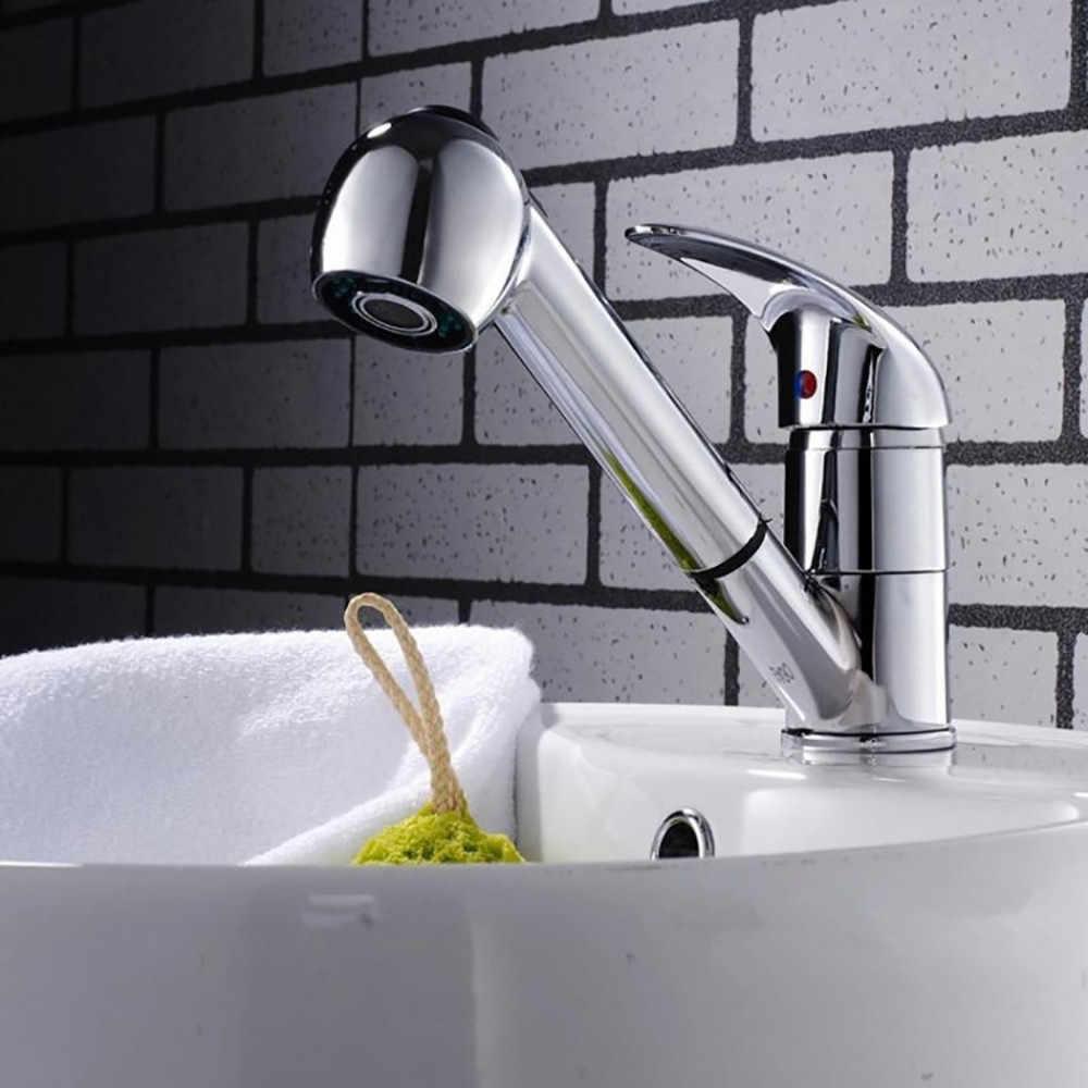 キッチン蛇口浴室のシャワーをタップシングルレバーミキサー蛇口シンクミキサープルアウトとスプレーヘッド台所の蛇口 19MAY21