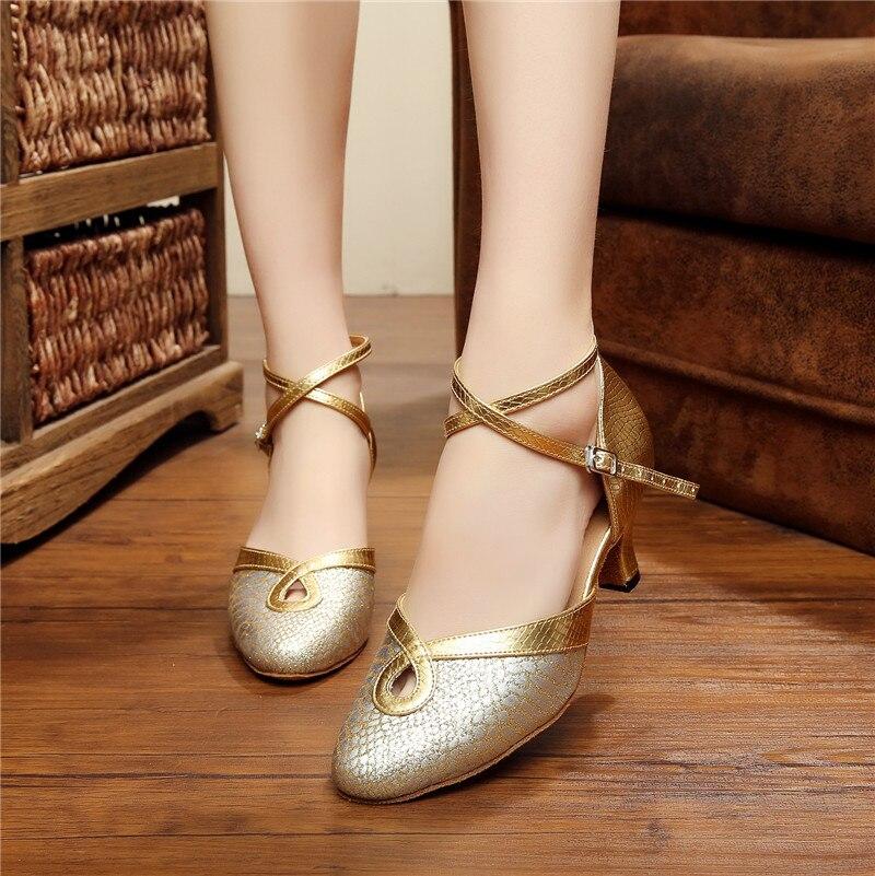 Dance font b Shoe b font Ballroom font b Salsa b font Latin Tango Bachata Dancing