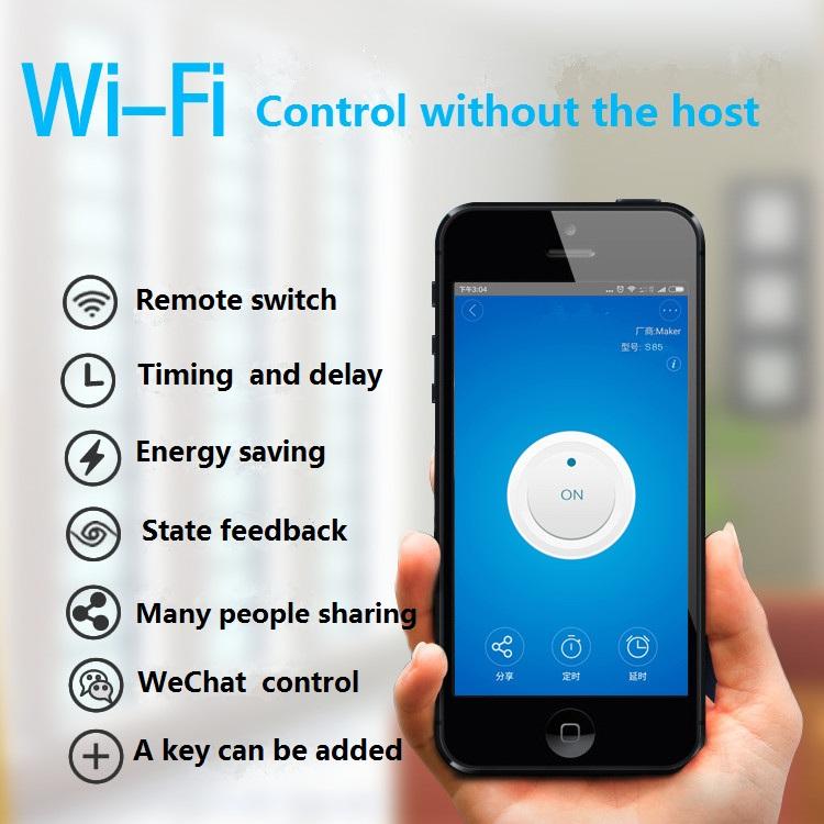 Sonoff Moduł Automatyki Inteligentnego Domu Wifi Przełącznik Uniwersalny Zegar Diy Przełącznika Bezprzewodowego Pilota zdalnego sterowania Poprzez IOS Android 10A/2200 W 2
