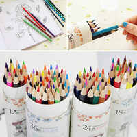 New 12 18 24 36 Water Color Pencils Gift Designed For Student Artists Crafters