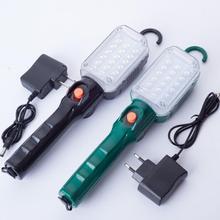 Portatile Ricaricabile Magnetica Esterna di Emergenza HA CONDOTTO LA Luce del Lavoro di Riparazione Auto Lampada Rotante pieghevole gancio