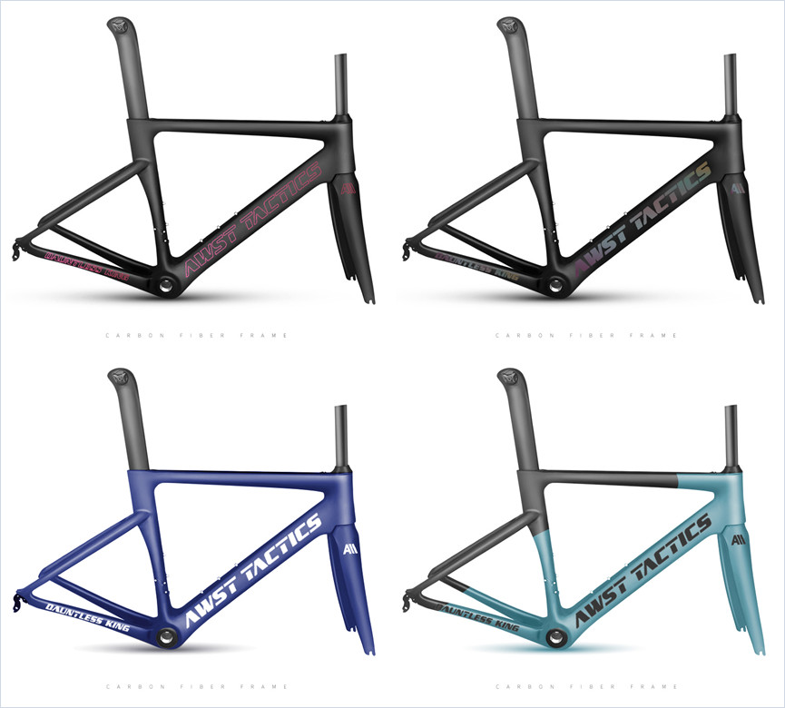 T1000 700C Super Light Aero UD/3K BB30 BSA Carbon Bike Road Bicycle Frame Carbon Fiber Aero Road Frame Set