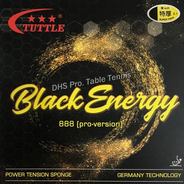 2019 Tuttle noir énergie 888 allemagne gâteau éponge 40 + Tennis de Table en caoutchouc, ping-pong caoutchouc livraison gratuite