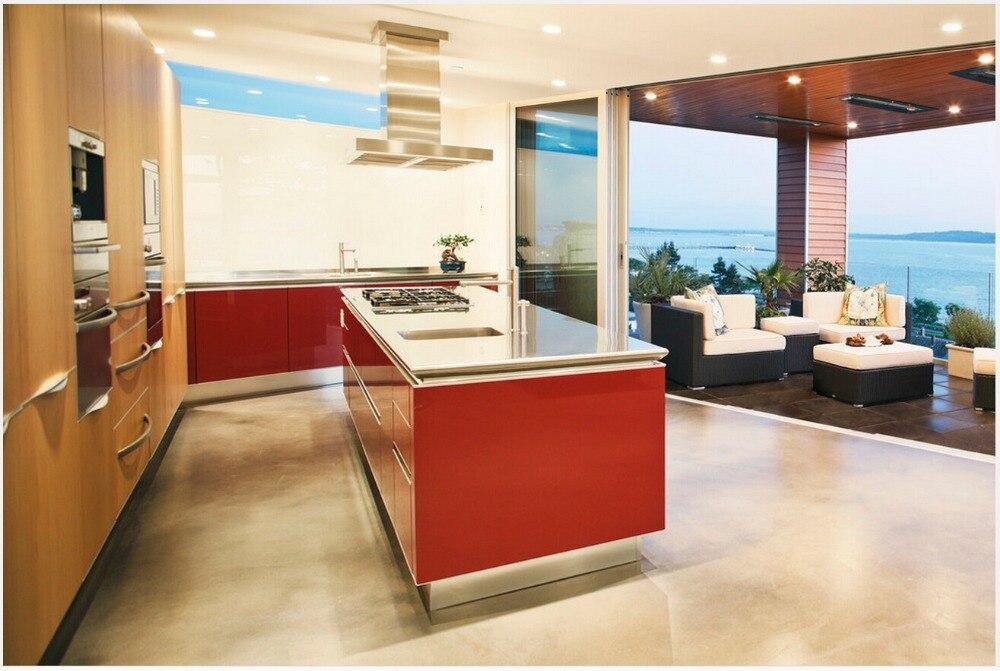 Buy 2017 New Design Kitchen Unit Factory Modern Kitchen Furnitures