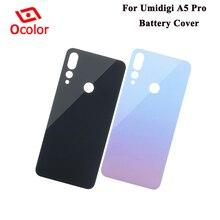 Ocolor için Umidigi A5 Pro pil kapağı 6.3 Bateria kapak değiştirme Umidigi A5 Pro pil kutusu koruyucu aksesuarları