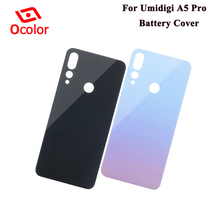 ocolor For Umidigi A5 Pro Battery Cover 6.3 Bateria Cover Replacement For Umidigi A5 Pro Battery Case Protective Accessories