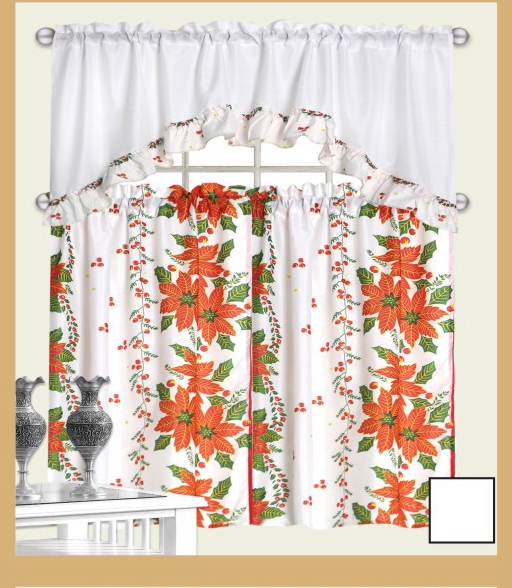 Us 7 0 Very Popular Cheap Price 3pcs Set Western Christmas Kitchen Curtains For Home In Curtains From Home Garden On Aliexpress Com Alibaba