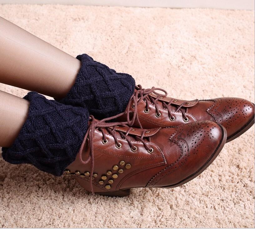 Toivotuksia polainas crochet knit Boot cuffs Boot Calcetines ...