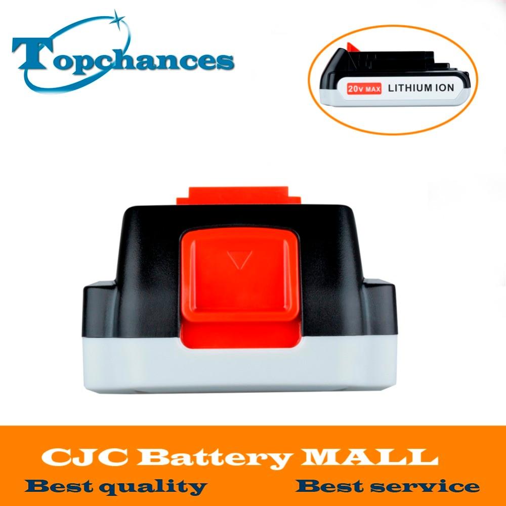 Brand New 20V 2000mAh Li ion Rechargeable Battery font b Power b font font b Tool